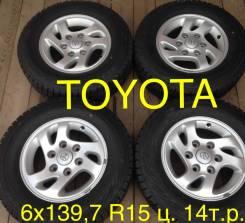 Литьё Toyota Hiace 6x139,7 R15 БП по РФ (100% с Японии) в Братске