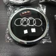 Колпаки на диски Audi черные 69мм
