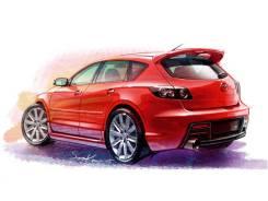 Кузовной порог Mazda 3 / 2003-2009 г. в.
