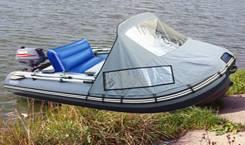 Лодка надувная reef 320KC+ жирная комплектация