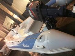 Лодка adventurer v500, мотор yamaha 75, прицеп