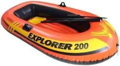 Лодка с веслами пвх Explorer 200 SET 58331 Доставка