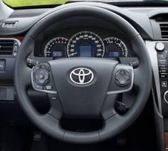 Руль Toyota Camry 50 кожа голый