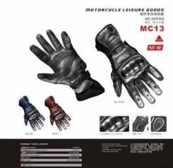 Мото перчатки Scoyco черные.