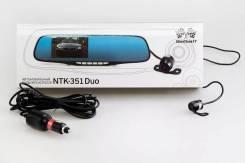 Видеорегистратор-зеркало SilverStone F1 NTK-351 Duo (2-камеры) Новый