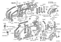 Панель Toyota Rav4 61024-42090 v