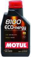 Motul 8100 Eco-Nergy. 5W-30, синтетическое, 1,00л.