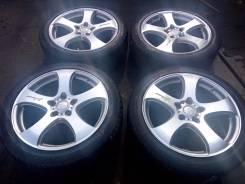 """133190 Колёса Venerdi R18 Dunlop Lemans 225/45. 7.5x18"""" 5x114.30 ET48"""
