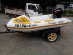 Изучу спрос о продаже/обмене комплекта лодка+мотор+телега