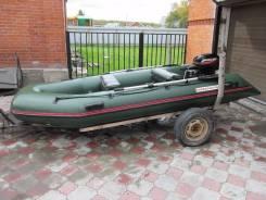 Надувная лодка Nissamaran 380 TR, лодочный мотор Mercury 15