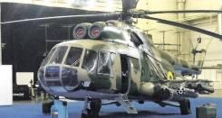 Военный вертолет ми 8.