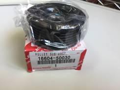 Ролик ремня генератора 1 / 2/ 3 UZ-FE 97-  Toyota   16604-50030