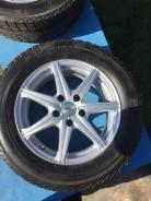 Колеса диски r16. 5 .114,3. шины Yokohama Ice Guard IG30 215/60 R16