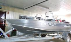 Windboat-46DC мотор Yamaha 40 veos Прицеп