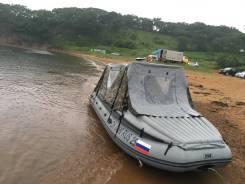 Продам лодку ПВХ с телегой и с мотором Yamaha 30 Л. С