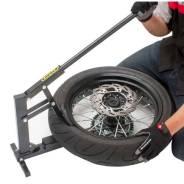 Станок для бортировки колес мотоцикла Unit размеры колес от 15 до 21