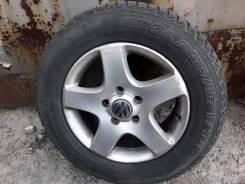 Оригинальные диски Volkswagen Туарег R-17 с резиной