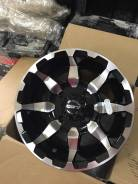 Диск литой STI, HD6 12x7 (4/110; 5+2; Gloss Black/Machined)