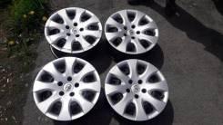 Оригинальные штампованные диски с колпаками Toyota