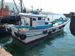 Продам шхуну рыбопромысловую