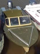 Амур-Д. 1992 год, длина 5,50м., двигатель подвесной, 80,00л.с., бензин