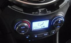 Блок управления климат-контролем с дисплеем Hyundai Solaris