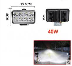 Фара LED 15,5/8/6 40W
