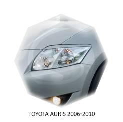 Защита фар прозрачная. Toyota Auris, ADE150, ADE151, NDE150, NRE150, NZE151H, NZE154H, ZRE151, ZRE152, ZRE152H, ZRE154H, ZZE150 1ADFTV, 1NDTV, 1NRFE...