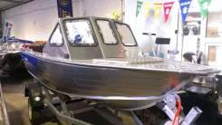 Алюминиевый Катер RusBoat 42У, новый