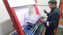 Опрессовка и ремонт головок блока цилиндров на стенде
