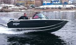Продам лодку Волжанка Фиш и мотор Yamaha 50/4 (можно отдельно)