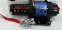 Лебедка для квадроцикла электрическая MW Х3500S с синтетическим тросом