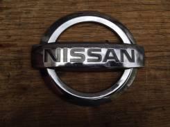 Эмблема багажника. Nissan: Bluebird, X-Trail, 100NX, Maxima, Hardbody, King Cab, NV200, NP300, 370Z, Sunny, Almera, Silvia, Patrol, Cherry, Cedric, Cu...