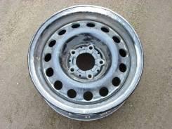 Штампованный алюминневый диск 15х6,5J 5х120 ET18 DIA74,1 BMW