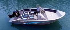 Комфортабельный катер Aluma FISH