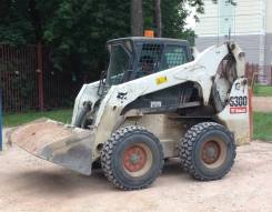 Аренда мини погрузчика Bobcat S300