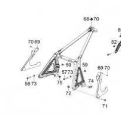 Модуль переднего подрамника BRP Ski-Doo Scandic WT SWT 2012-2015 518327004