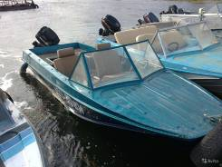 Продам лодку казанка 5 м с мотором Yamaha40