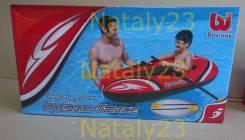 Лодка надувная детская Bestway 61078 с вёслами