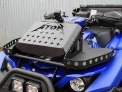 Вынос радиатора Yamaha Grizzly700 и транспортные площадки