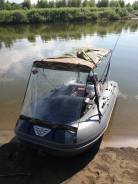 Продаю лодка Флагман 350 с дном низкого давления и мотор Ямаха 9.9