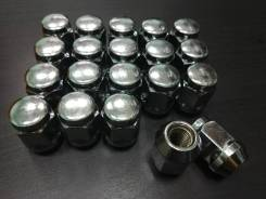 Гайки конусные комплект 20 штук 12*1.5 (21 ключ)
