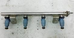 Рейка топливная 35340-2B010 с форсунками на G4FC