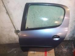 Дверь задняя левая Peugeot 206 седан