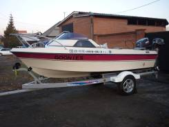 Продам катер Yamaha Fish 15 custom с прицепом