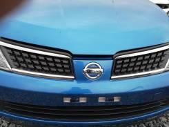 Решетка радиатора. Nissan Tiida Latio, C11T, SC11 Nissan Tiida, C11, C11S, C11T, JC11, NC11, SC11S, C11X Nissan Latio, C11L HR16DE, MR18DE, HR15DE