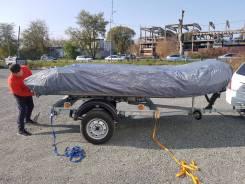 Чехол для лодки транспортировочный 3.8 м. (Видео)