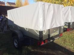 Прицеп бортовой 2,5х1,3х1 м для перевозки различного груза на легковом