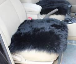 Подушка в машину из натуральной овчины