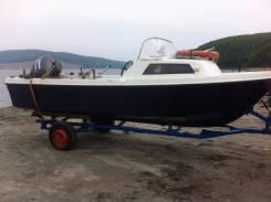 Продам катер Yamaha Fish-17b с 4-х. т мотором